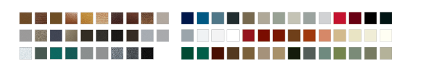 Highest quality commercial colors