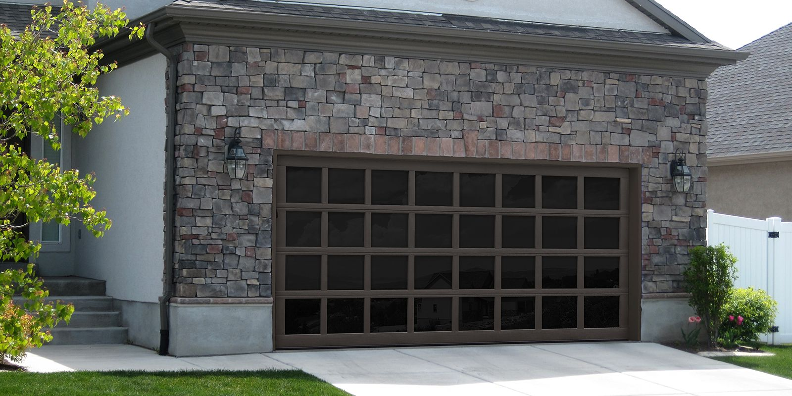 The All Glass Garage Door